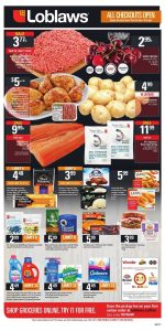 Loblaws Flyer July 6 2017