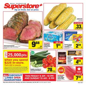 Real Canadian Superstore Flyer July 2 2017