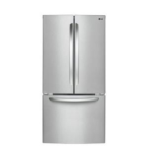 Save $308 on LG 24 French Door Refrigerator