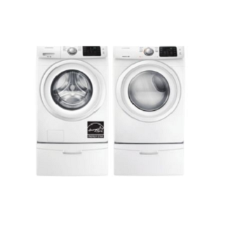 Save $450 on SAMSUNG Front-Load Laundry Pair