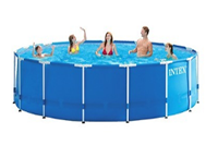 Walmart Clearance Intex 12' x 30' metal frame pool , $128.00