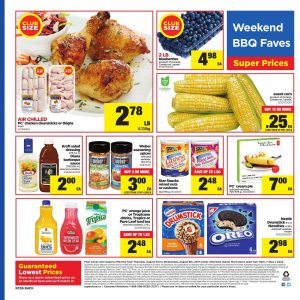 Real Canadian Superstore Flyer August 8 2017 - Weekend BBQ Faves
