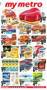 Metro Flyer Food Sale Aug 2017
