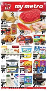 Metro Flyer Healthy Foods 14 Aug 2017