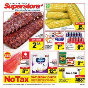 Real Canadian Superstore Flyer Low Prices Aug 2017