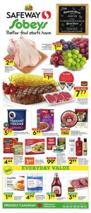 Safeway Flyer Food Deals Aug 2017