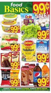 Food Basics Flyer 1 Dollars Sale 25 Sep 2017
