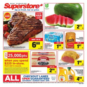 Superstore Flyer Good Deals Sep 2017