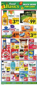 Food Basics Flyer Deal Mania Days 2017
