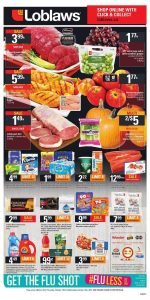 Loblaws Flyer Good Food Deals 15 Oct 2017