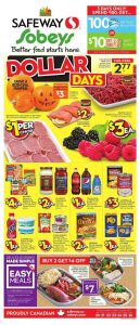 Sobeys Flyer Halloween Day Deals 2017