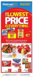 Walmart Flyer Lowest Prices 28 Oct 2017
