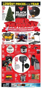Canadian Tire Flyer Black Friday Deals 22 November 2017