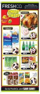 FreshCo Flyer Special Christmas Sale 30 Nov 2017