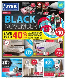 JYSK Flyer Black Friday Sale 14 November 2017