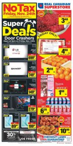 Real Canadian Superstore Flyer Super Deals 28 Nov 2017