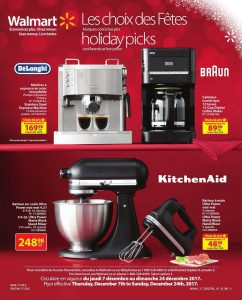Walmart Flyer Holiday Picks December 11 2017
