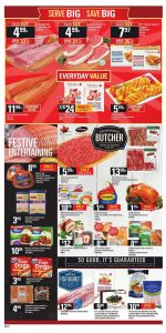 Loblaws Flyer December 11 2017 - Serve Big Save Big