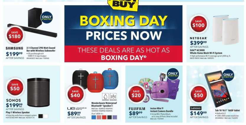 Christmas Gift Ideas Best Buy Flyer Special Picks 2
