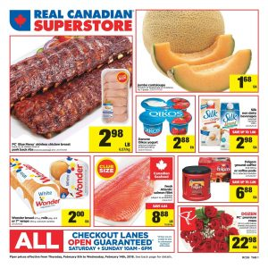 Real Canadian Superstore Flyer Good Deals 15 Feb 2018
