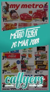 Metro Flyer Happy Easter Deals 26 Mar 2018