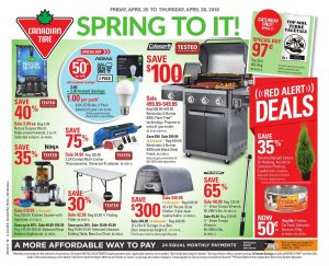 Canadian Tire Flyer Red Alert Deals 26 Apr 2018