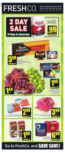 FreshCo Flyer Two Day Sale 31 May 2018