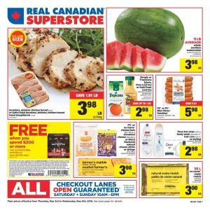 Real Canadian Superstore Flyer Big Save 9 May 2018