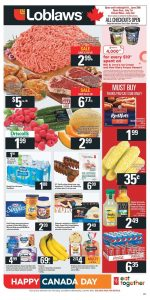Loblaws Flyer Canada Day Deals 3 Jul 2018