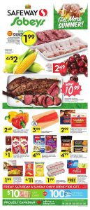 Safeway Flyer Summer Deals 18 Jul 2018
