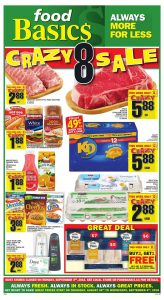 Food Basics Flyer Crazy Sale 1 Sept 2018