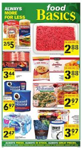 Food Basics Flyer Special Sale 12 Aug 2018