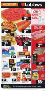 Loblaws Flyer Big Sale 10 Aug 2018
