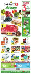 Safeway Flyer Big Sale 20 Aug 2018