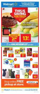 Walmart Flyer Online Deal 6 Aug 2018