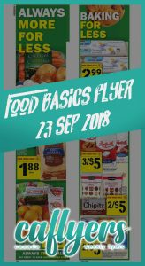 Food Basics Flyer Crazy Sale 23 Sep 2018
