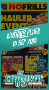 No Frills Flyer Online Deals 15 Sep 2018