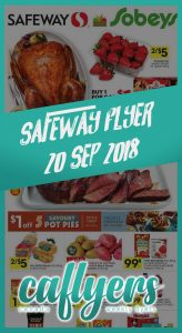 Safeway Flyer Online Sale 20 Sep 2018