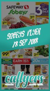 Safeway Flyer Super Deals 28 Sept 2018