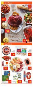 Walmart Flyer Thanksgiving Deals 1 Oct 2018