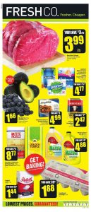 FreshCo Flyer Black Friday Deals 31 Oct 2018