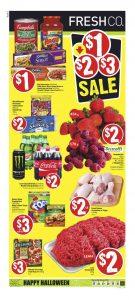 FreshCo Flyer Halloween Deals 25 Oct 2018