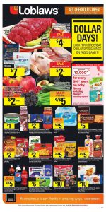 Loblaws Flyer Dollar Days 23 Oct 2018