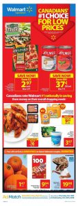 Walmart Flyer Halloween Deals 20 Oct 2018