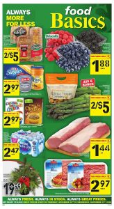 Food Basics Flyer Black Friday 18 Nov 2018
