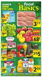 Food Basics Flyer Black Friday Sale 25 Nov 2018