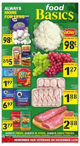 Food Basics Flyer Daily Deals 11 Nov 2018