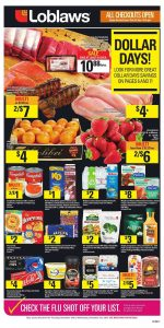 Loblaws Flyer Dollar Days Deals 16 Nov 2018
