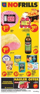 No Frills Flyer Boxing Day Sale 30 Nov 2018