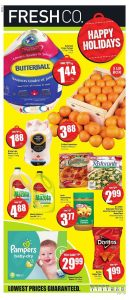 FreshCo Flyer Christmas Deals 6 Dec 2018